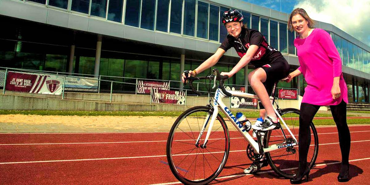 ASC Olympia - Mentor & Leerling: Eva van Glasenap & Roxanne Kneteman