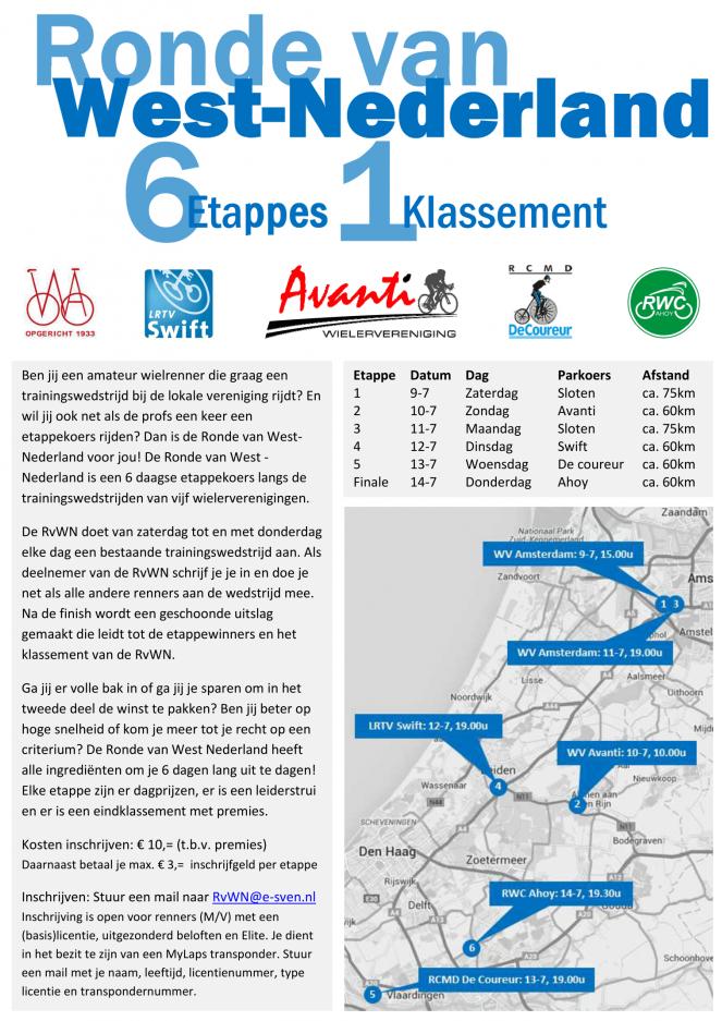 Affice Ronde van West-Nederland