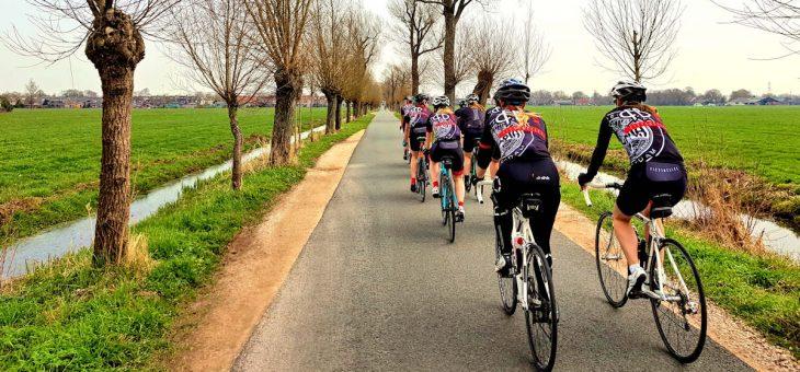 Tien regels voor het fietsen in een groep
