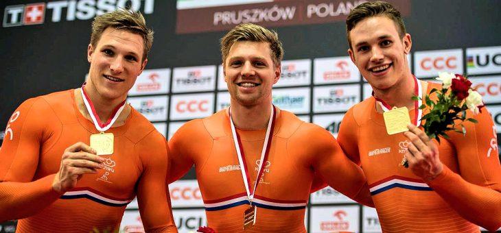 Goud voor Olympiaan Nils van 't Hoenderdaal