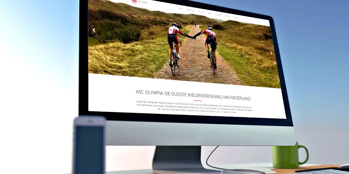 ASC Olympia - Nieuwe website: klaar voor de toekomst!