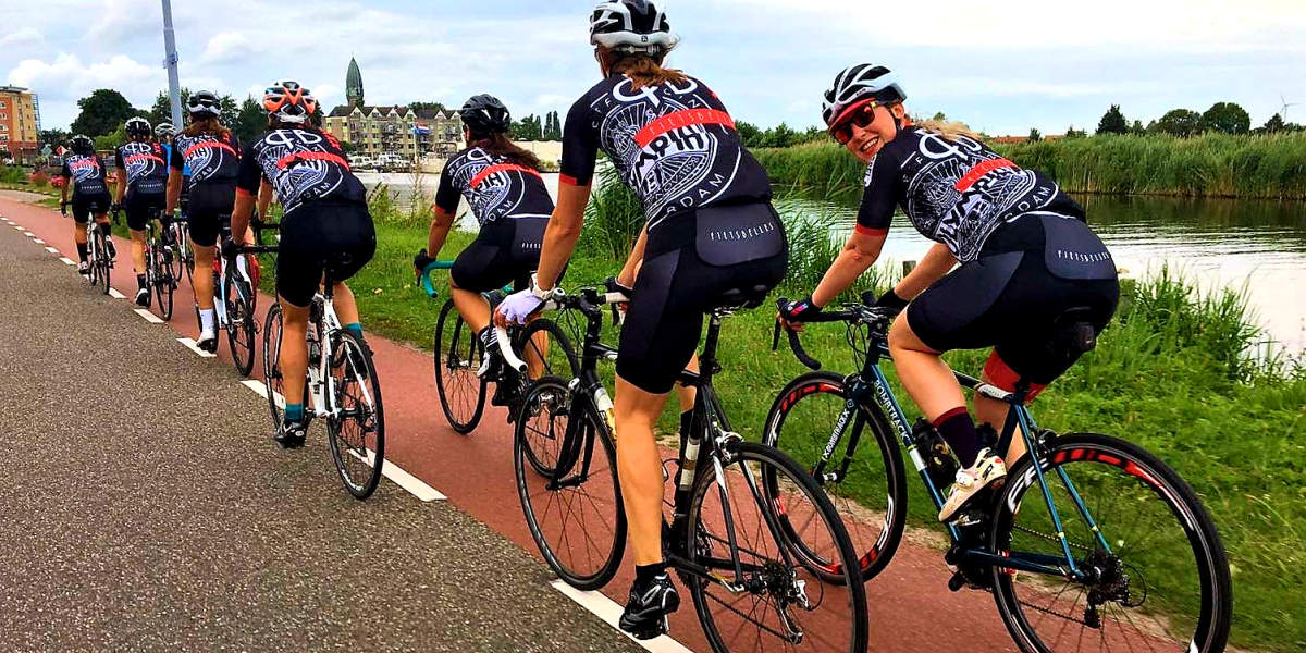 ASC Olympia - Vrouwenwielrennen in Amsterdam? Word lid van Fietsbelles