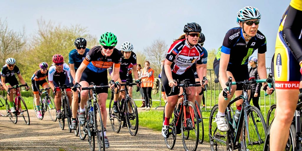 ASC Olympia - Women Racing: de eerste race!