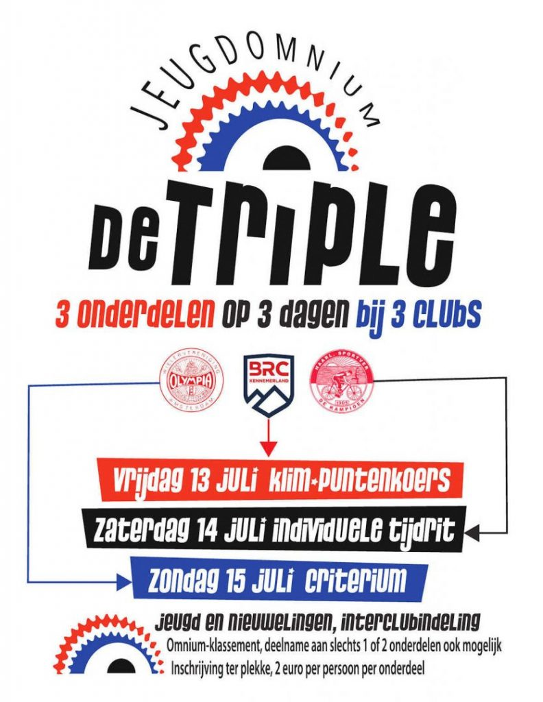 ASC Olympia - Interclub Jeugd Omnium 2018 De Triple Poster