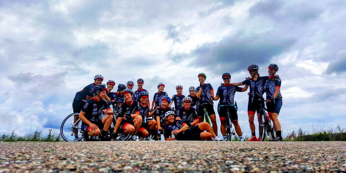 ASC Olympia - Fietsbelles: vrouwenwielrennen in Amsterdam
