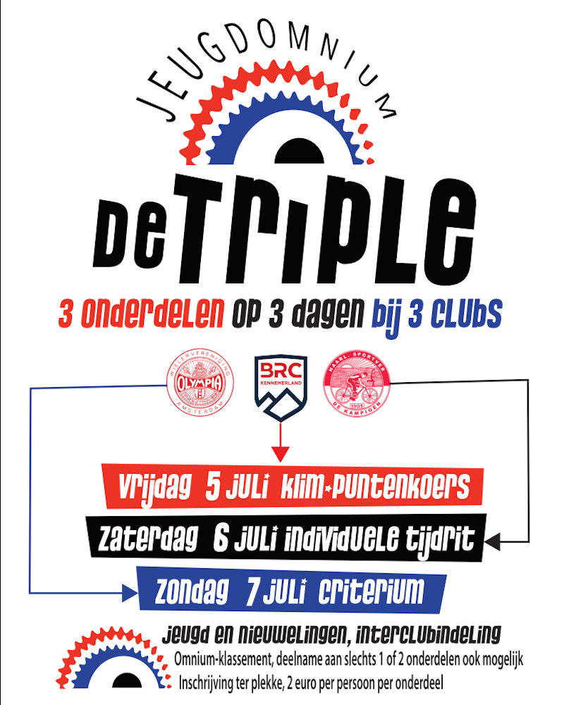 ASC Olympia - Interclub Jeugd Omnium 2019 De Triple Poster