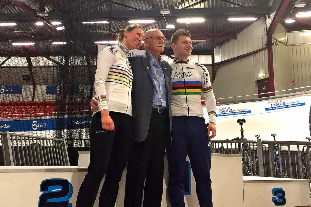 ASC Olympia - Onze wereldkampioenen: Carolien van Herrikhuyzen, Piet van Heusden en Nils van 't Hoenderdaal