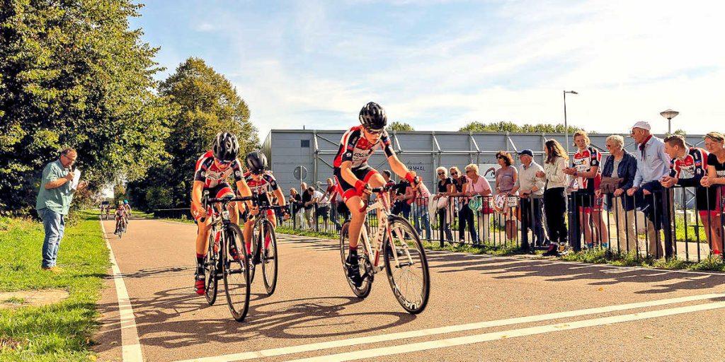 ASC Olympia - Jeugdwielrennen in Amsterdam